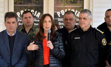 VIDAL ANUNCIÓ REFORMAS EN LA POLICÍA BONAERENSE DESDE LA MATANZA